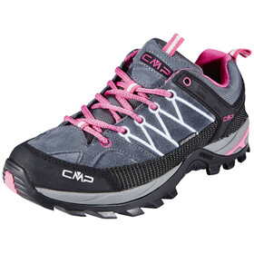 CMP Campagnolo Rigel Low WP Trekking Shoes Women Grey-Fuxia-Ice